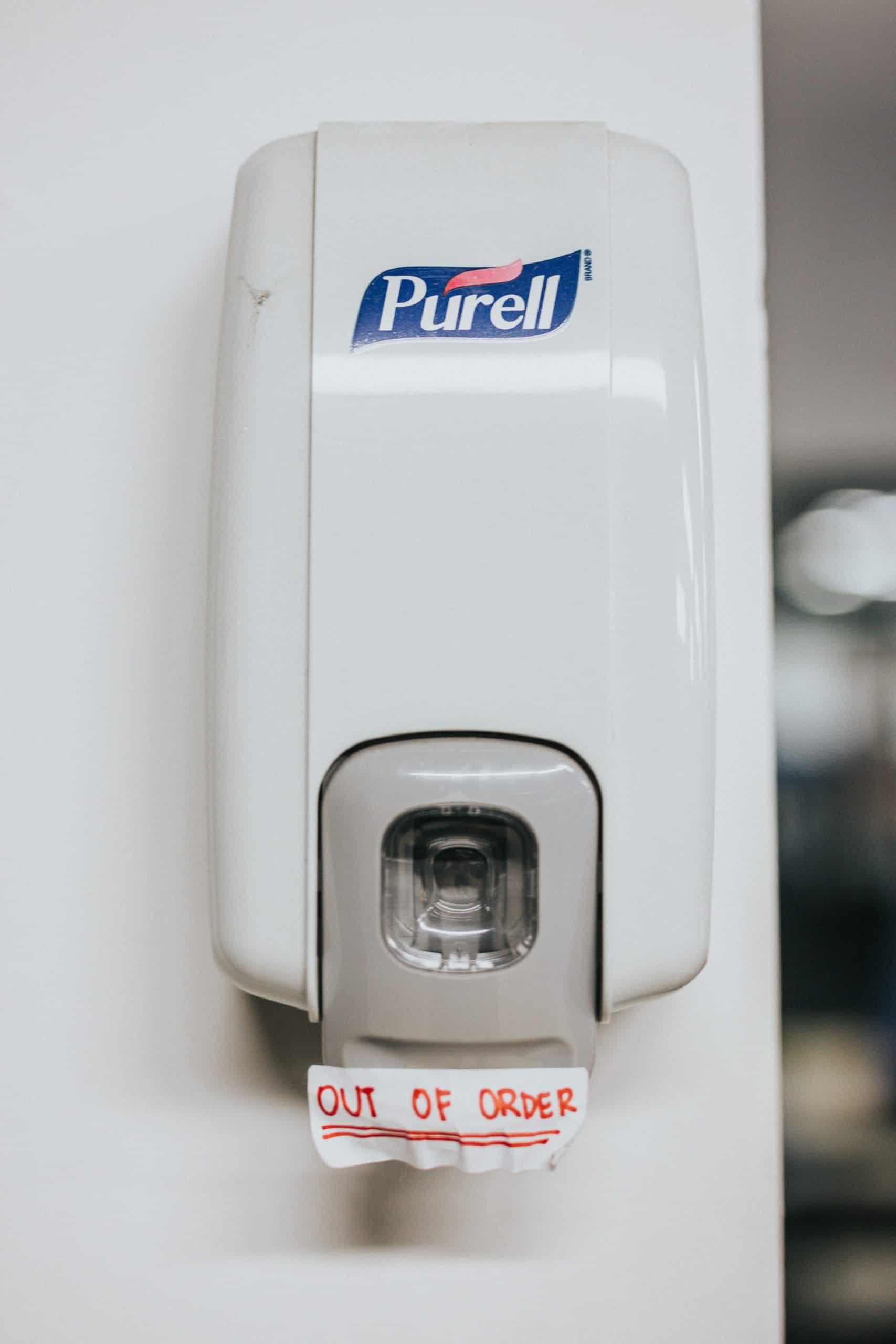 distributeur gel hydroalcoolique automatique