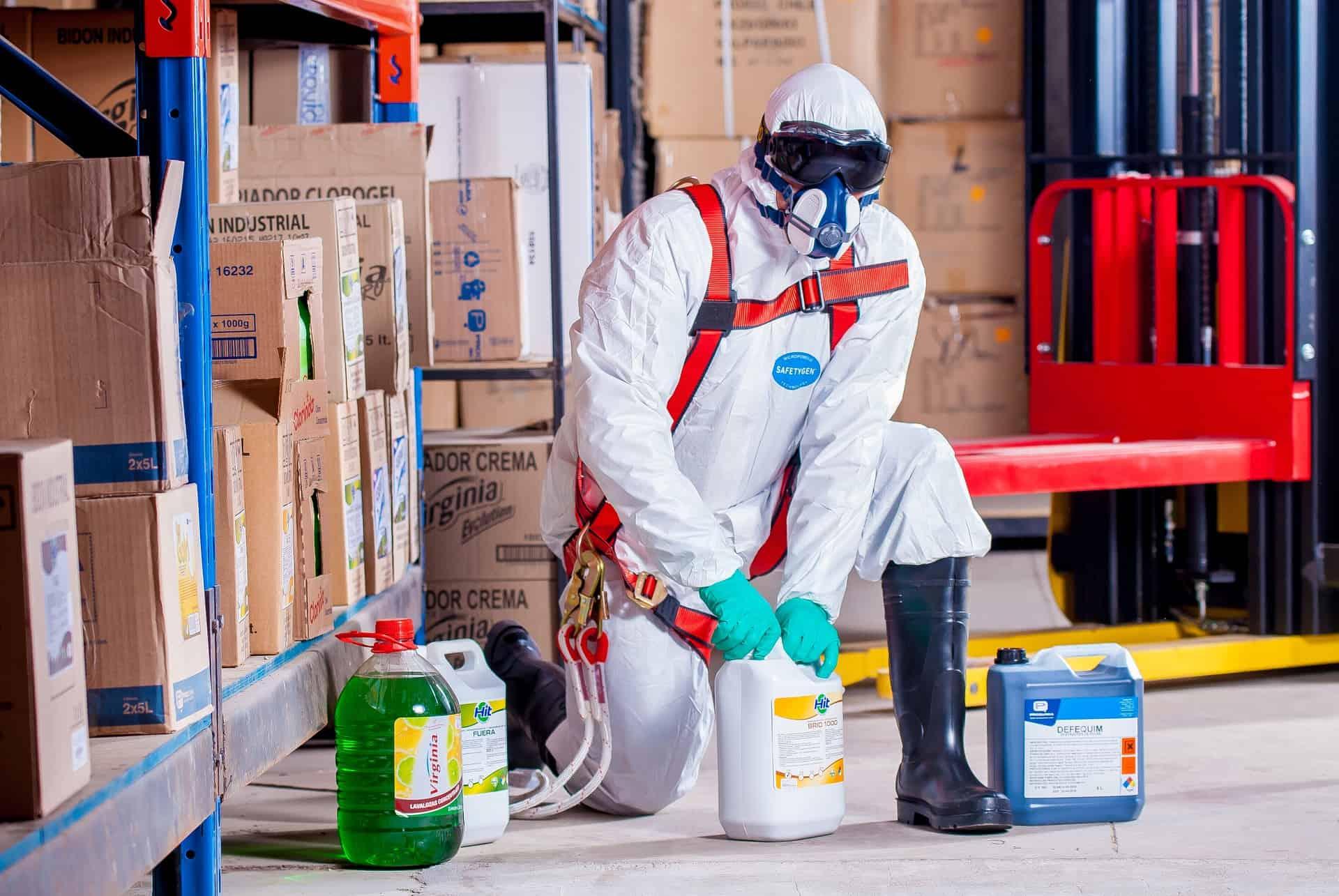 nettoyage risque chimique